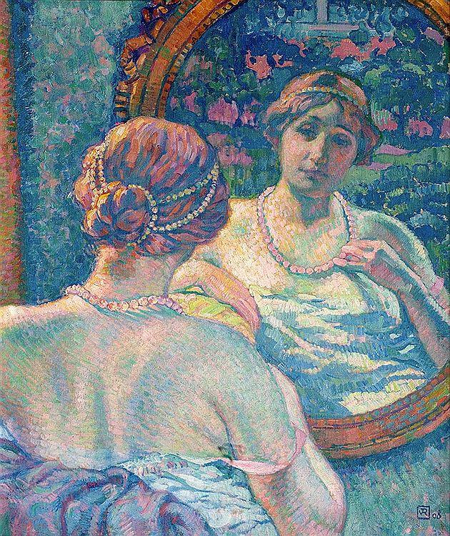 Elegance in a Mirror, 1908
